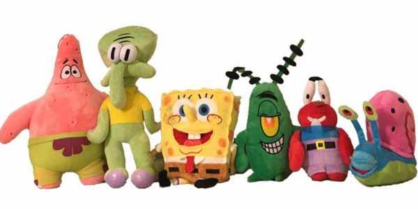 عروسک باب اسفنجی و دوستانش