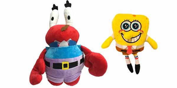 عروسک آقای خرچنگ و باباسفنجی