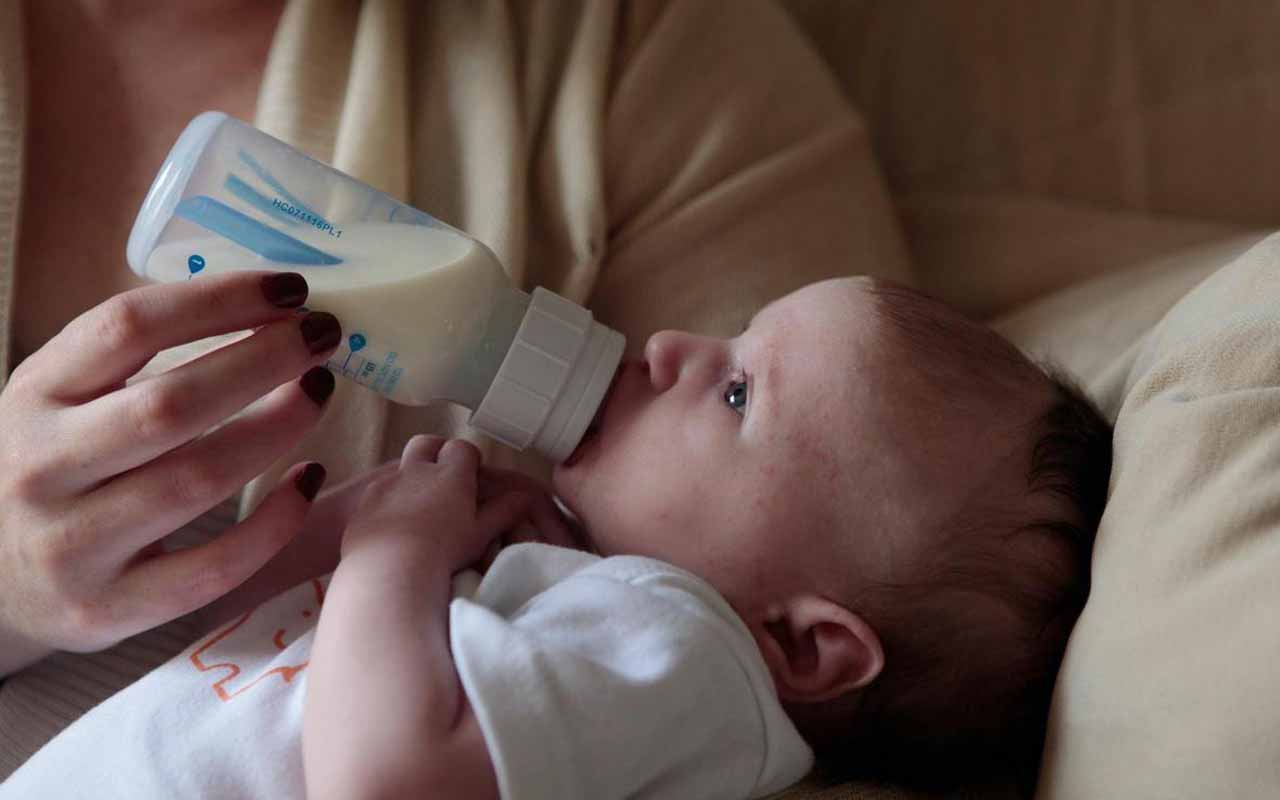شیشه شیر ضد نفخ نوزاد