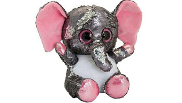 عروسک طرح فیل مدل Gilitter