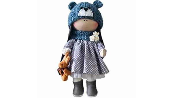 عروسک طرح دختر روسی مدل G18 اسباب بازی دخترانه عروسک