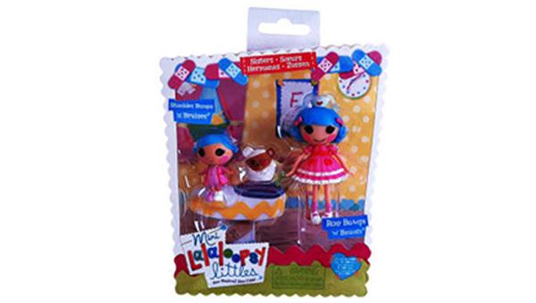 عروسک لالالوپسی مدل Rosy Stumbles Bumps مجموعه 3 عددی